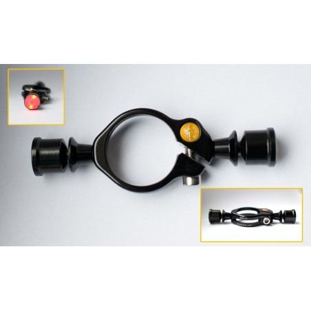 Cierre con dos luces LED - 27.2mm