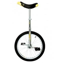 "Monociclo Freestyle: LUXUS CROMO Qu-Ax 20"" - Detalle lateral"