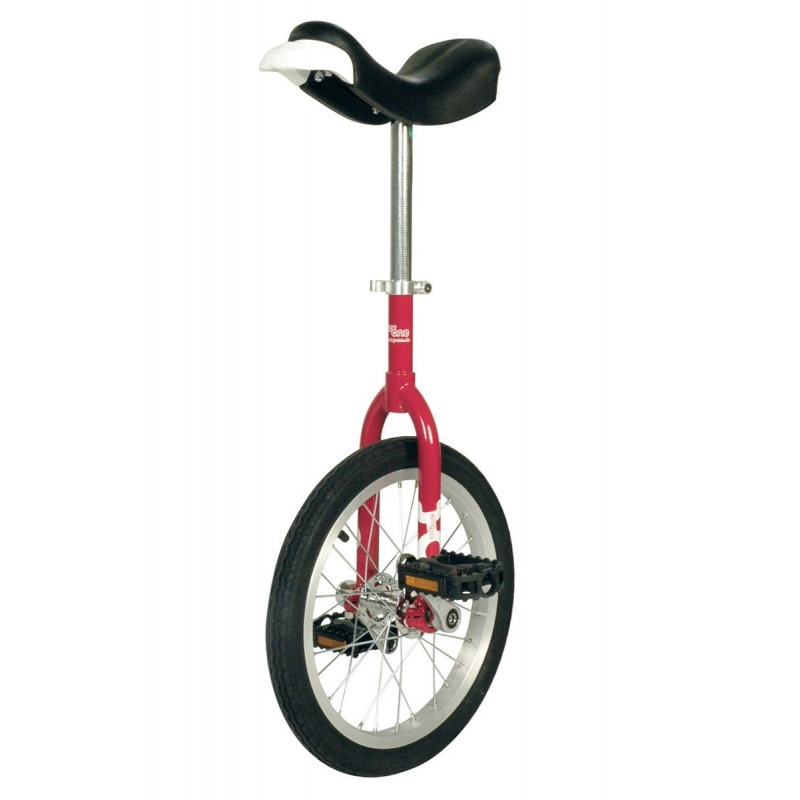 """Monociclo Qu-Ax ONLY-ONE 16"""" Rojo"""
