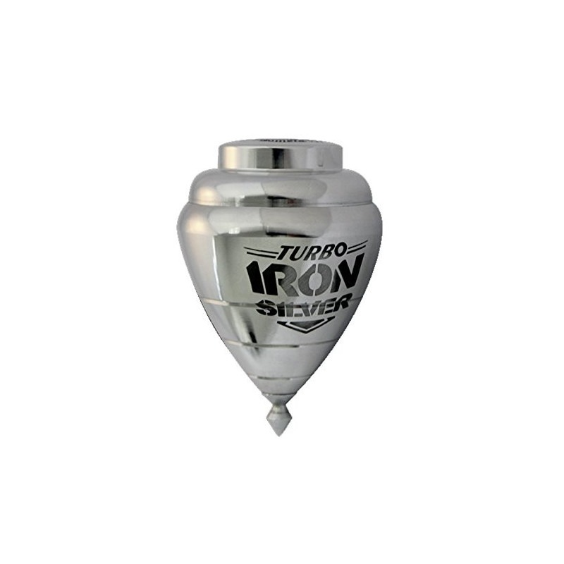 Trompo Peonza Iron Silver - COMETA