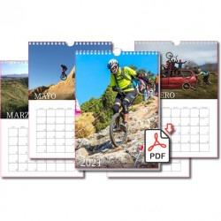 Calendario Monociclistas...